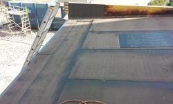 Lamekatus lamekatused: aluskatte rullmaterjali paigaldamine