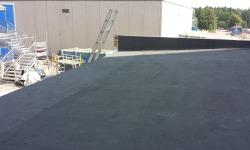 Katuse ehitus: pealiskatte rullmaterjali paigaldamine