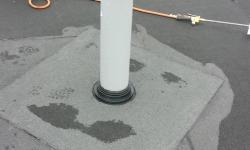 Lamekatuse remont- ja parandustööd: läbiviigu(tuulutus) paigaldamine