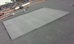 Katuse remont: katuse paikkamine rullmaterjaliga