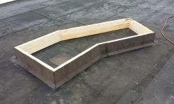 Lamekatuse remont: ummistatud katusekaev, ajutine vee ligipääsu tõkestamine katuse avamise ajaks