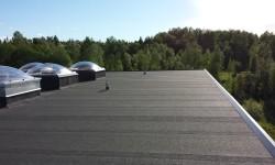 Lilleoru TMK katuse ehitus