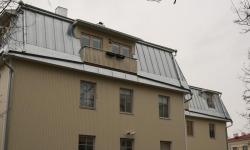 Viilkatuse ehitus: valtsplekk katus