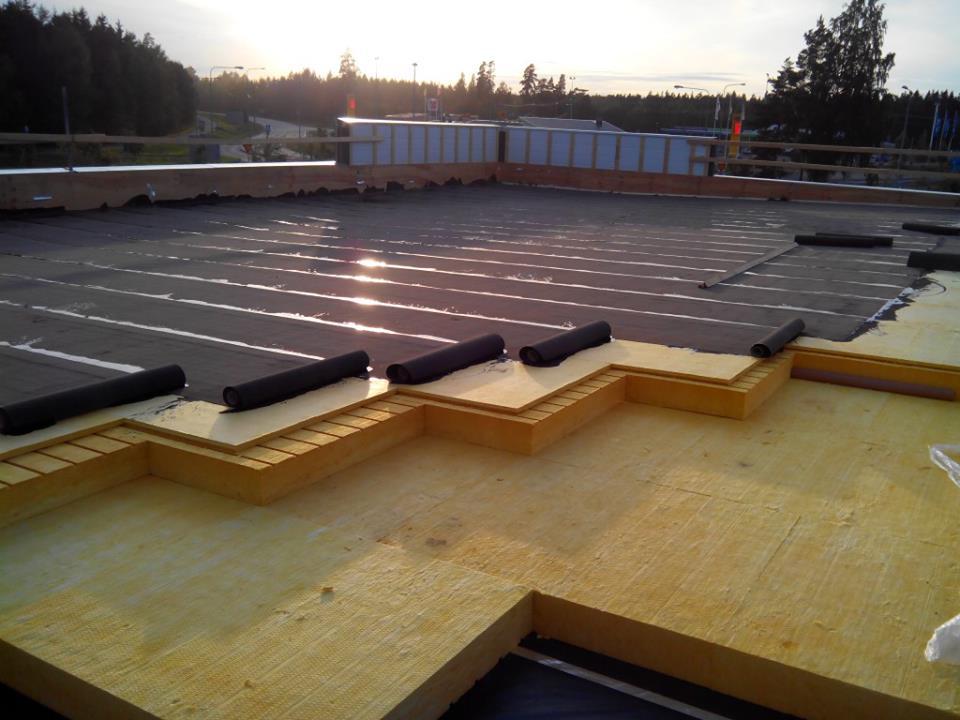 Katuse soojustamine ja aluskattematerjali paigaldus